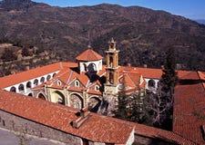 Machairas Kloster, Troodos Berge, Zypern. Stockfotografie