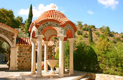 Machairas monastery Stock Photo