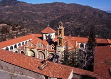 Machairas Monastery, Troodos Mountains, Cyprus. Stock Photography