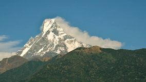 Machapuchare cinemagraph, Nepal stock footage
