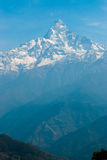 Machapuchare Mountain Royalty Free Stock Image
