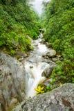 Machay River Ecuadorian Andes Range Stock Image