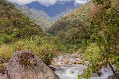 Machay River Trail, South America Royalty Free Stock Images