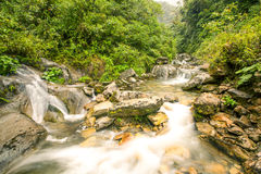 Machay River Waterfall Stock Images