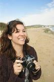 Machen der Feiertagsphotos Stockfotografie