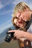 Machen der Fotos Stockfotos