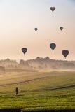 Machen des Ballon-Fotos Lizenzfreie Stockfotos