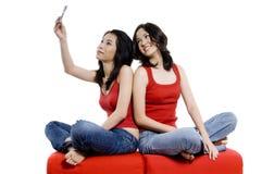 Machen des Fotos Stockfotografie