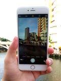 Machen des Stadtbild-Fotos Stockfotos