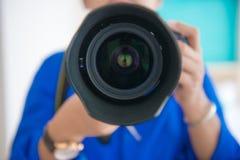 Machen Sie ein Foto Lizenzfreies Stockbild