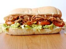 Machen Sie ein Sandwich Stockbild