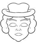 Machen Sie Ihre eigene Maske stock abbildung