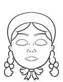 Machen Sie Ihre eigene Maske vektor abbildung