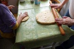 machen Sie Ostern-Kuchen Stockfoto
