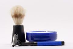 Machen Sie Rasur naß Lizenzfreie Stockbilder