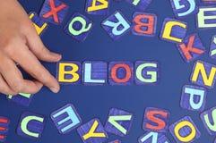 Machen Sie Sie Blog Lizenzfreie Stockfotos