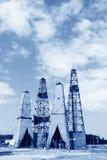 Torre de perforación de la perforación en la mina del hierro de MaCheng, condado de Luannan, Hebei favorable Foto de archivo