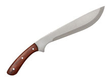 Machete with wooden handle Royalty Free Stock Photography