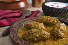Machh mutton kofta from Kashmir Stock Photo