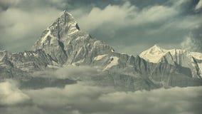 Machhapchhre στο Νεπάλ himalayan Στοκ φωτογραφία με δικαίωμα ελεύθερης χρήσης