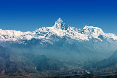 Machhapuchchhre mountain Royalty Free Stock Photography
