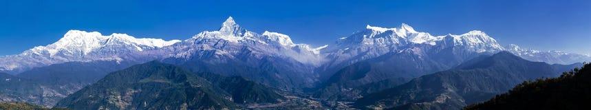 Machhapuchhare mountain Royalty Free Stock Image