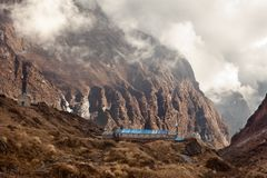 Machhapuchhre Base Camp Royalty Free Stock Images