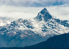 The Machhapuchhre (Fish Tail) in Nepal Stock Photography