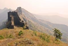 Machi di Rajgadh-Suvela Fotografie Stock