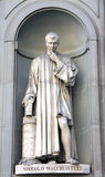 Florence, Machiavelli sculpture Royalty Free Stock Image