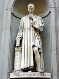Machiavelli Statue Stock Photography