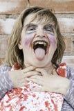Machiavellian blood girl Royalty Free Stock Images