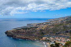 Machico airport. Madeira Portugal. High Royalty Free Stock Photography