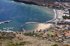 Machico Beach Royalty Free Stock Photo