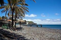 Machico nära flygplats i madeira royaltyfria foton