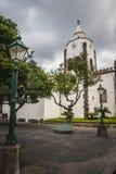Machico nära flygplats i madeiran, Portugal royaltyfri foto
