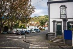 Machico nära flygplats i madeiran, Portugal arkivbild