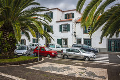 Machico near airport in Madeira, Portugal Royalty Free Stock Photo