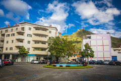 Machico near airport in Madeira, Portugal Royalty Free Stock Image