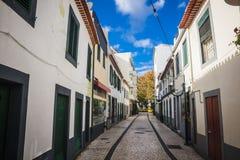 Machico près d'aéroport en la Madère, Portugal Image stock