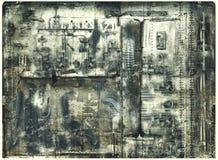 machinalna abstrakcjonistyczna fuzja Zdjęcia Royalty Free