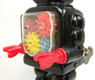 Machinalna robot klatka piersiowa Obrazy Stock