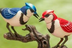 Machinalni ptaki Obrazy Royalty Free
