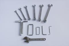 Machinalni ręk narzędzia Obraz Stock