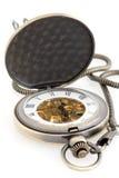 machinalny kieszeniowy zegarek Fotografia Stock