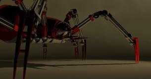 machinalny pająk Zdjęcia Royalty Free