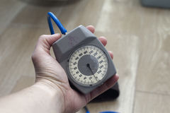Machinalny Tonometer Fotografia Royalty Free
