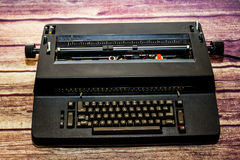 Machine à écrire électrique de vintage photos stock