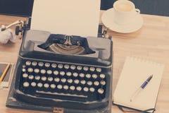 Machine à écrire Images stock