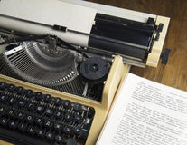 Machine à écrire Photographie stock